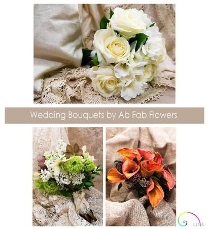 Wedding bouquets by AB Fab