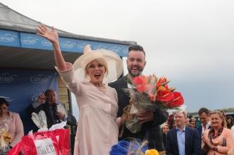 Joanna Lumley meets Lorcan 2